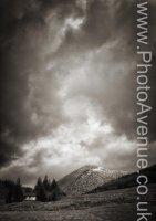 Storm over Beinn Odhar