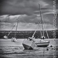 Yachts in Granton Harbour
