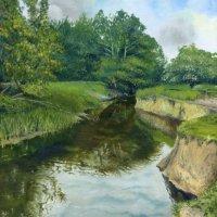 The Rea Brook at Hanwood