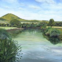 Wrekin from Cressage