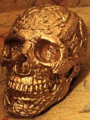 Human replica skull - celtic design