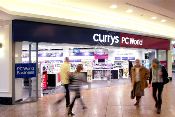 Currys / PC World Shop front - Axis Automatic Entrance Systems Ltd