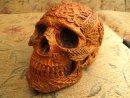 Skull Celtic - Copper Gold Pint, Etsy PJCreationCraft