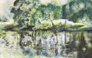 The River Wharfe - Grassington
