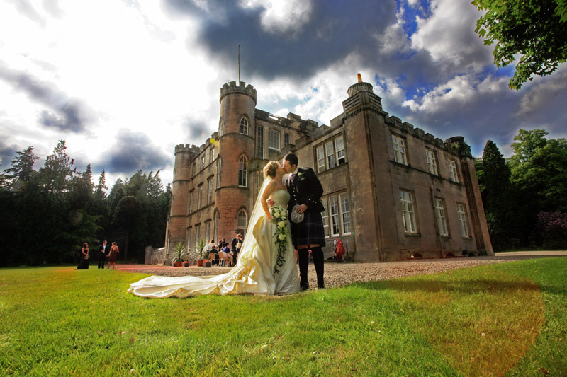 Karen and Dan, Melville Castle