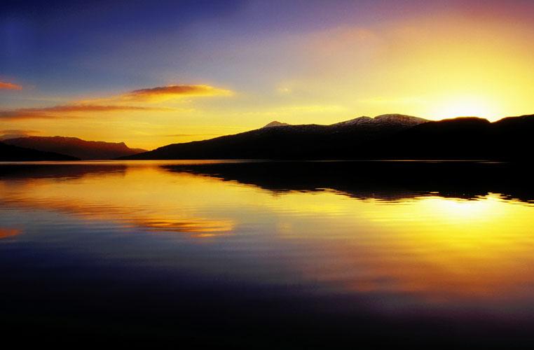 Loch Katrine sunrise