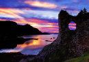 Strome Castle ruins