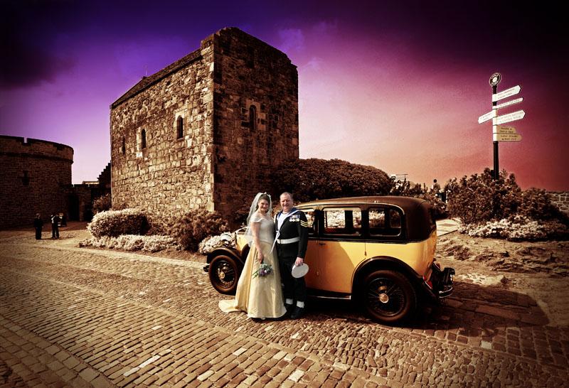 Tracey and Mark, Edinburgh Castle