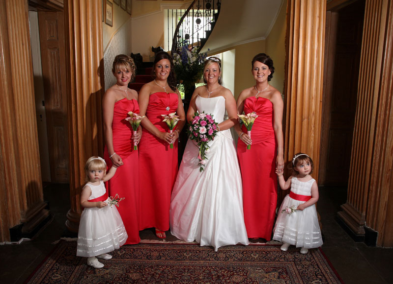 Lianne and bridesmaids