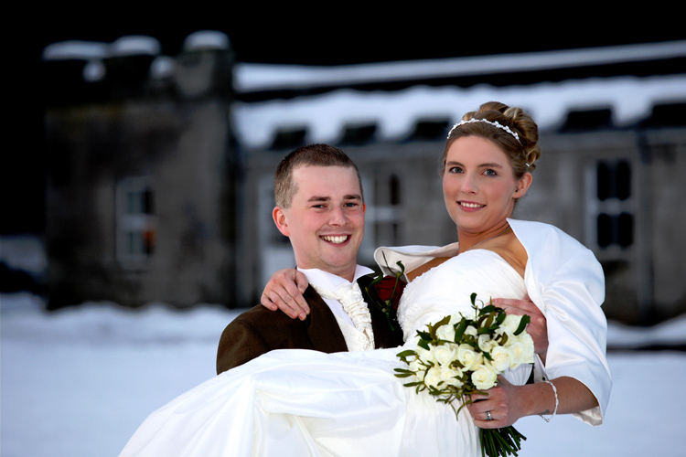 Gemma and Tom, Melville Castle