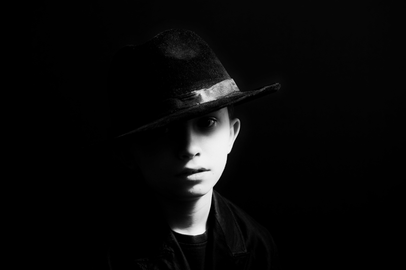 Children - Photo Noir