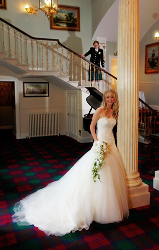 Lynne and Alasdair, Melville Castle