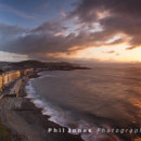 Aberystwyth sunset from Constitution Hill