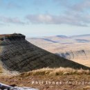 Corn Ddu from Pen y Fan, Brecon