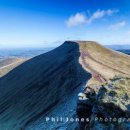 Pen y Fan from Corn Ddu, Brecon Beacons