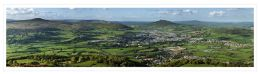 Abergavenny Panoramic. Limited Edition of 25.