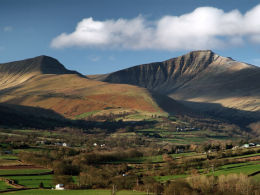 The Brecon Beacons, Wales.