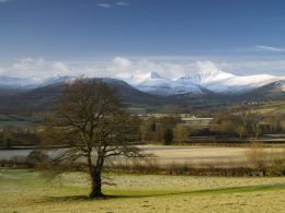 Pen y Fan and Cribyn, The Brecon Beacons 2.