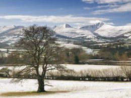 The Brecon Beacons, Jan 2013.