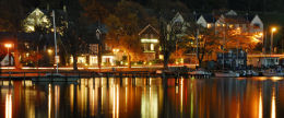 Night life on Windermere, The Lake District. Limited Edition of 100.