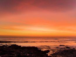 Sunset, Nash Point.