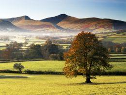 Autumn Mist, The Brecon Beacons.