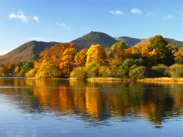 Autumn, Derwent Water.