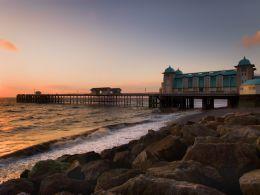 Sunrise, Penarth Pier.