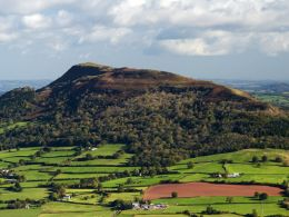 The Skirrid Mountain.