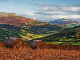 Sugar Loaf and Pen Cerrig-calch.