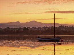 Golden Sunset, Llangorse Lake.
