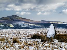 Sugar Loaf Mountain from the Moors.