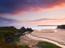 Three Cliffs Bay, The Gower.