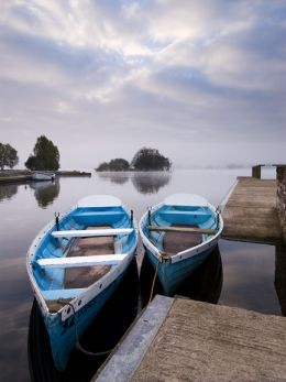 Dawn, Llangorse Lake.