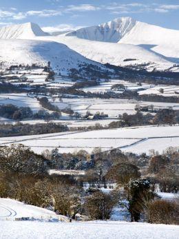 Winter, The Brecon Beacons.