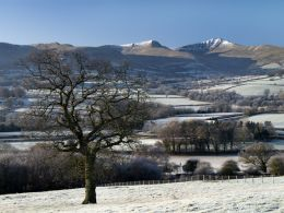 The Brecon Beacons in winter 7.