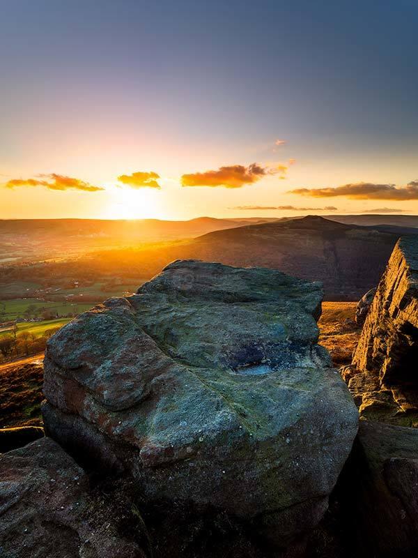 Golden Sunset Bamford Edge