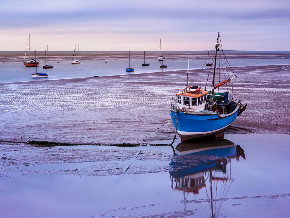 Blue Boat Cleveleys II