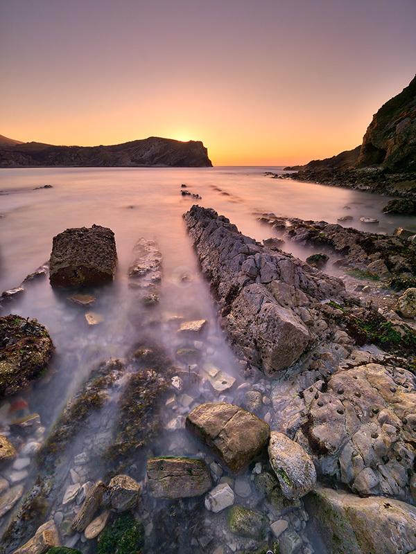 Lulworth Cove Dawn II