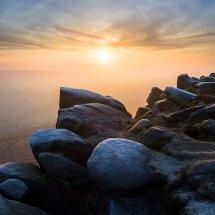 Higger Tor Misty Sunrise