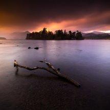 Lake District Derwentwater Dusk