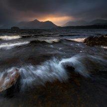 Lake District Derwentwater Storm