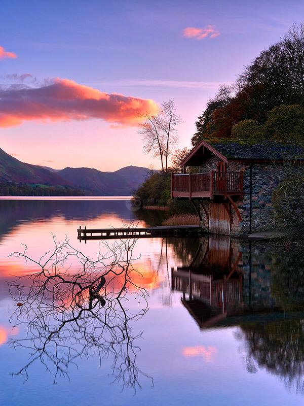 Boathouse Sunset II