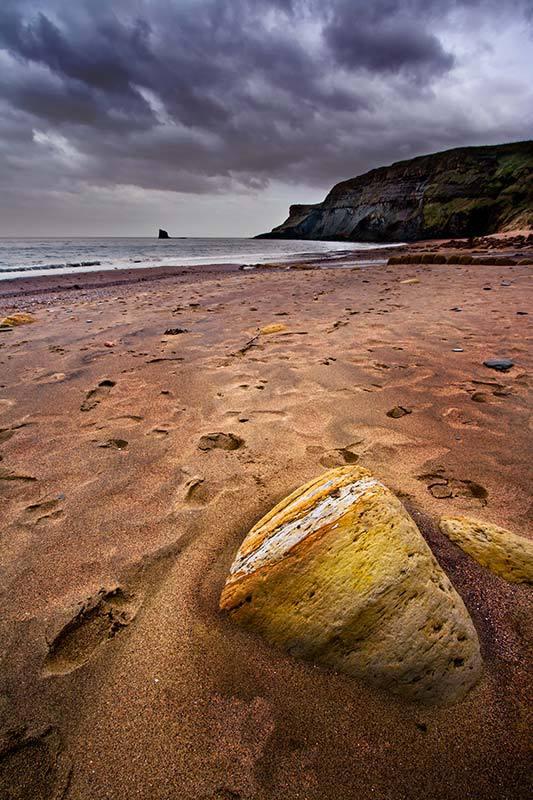 Sandstone Rock-Saltwick Bay