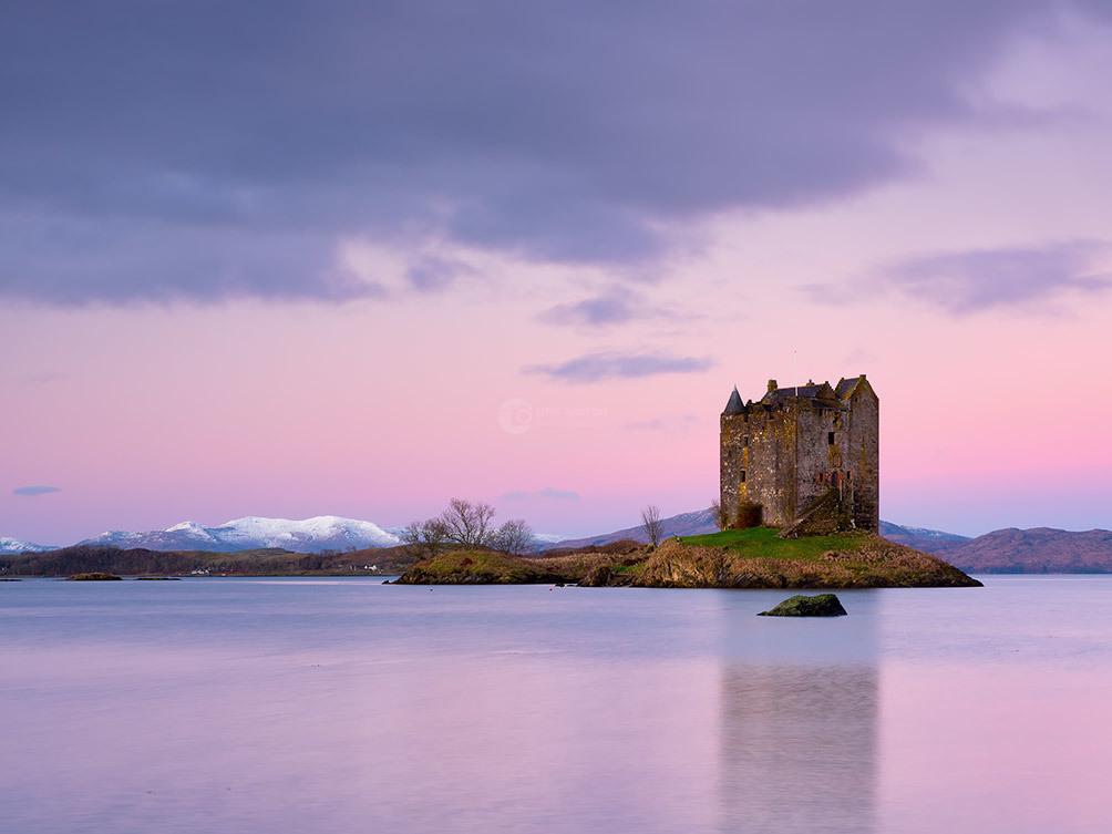 Castle Stalker Pink Dawn