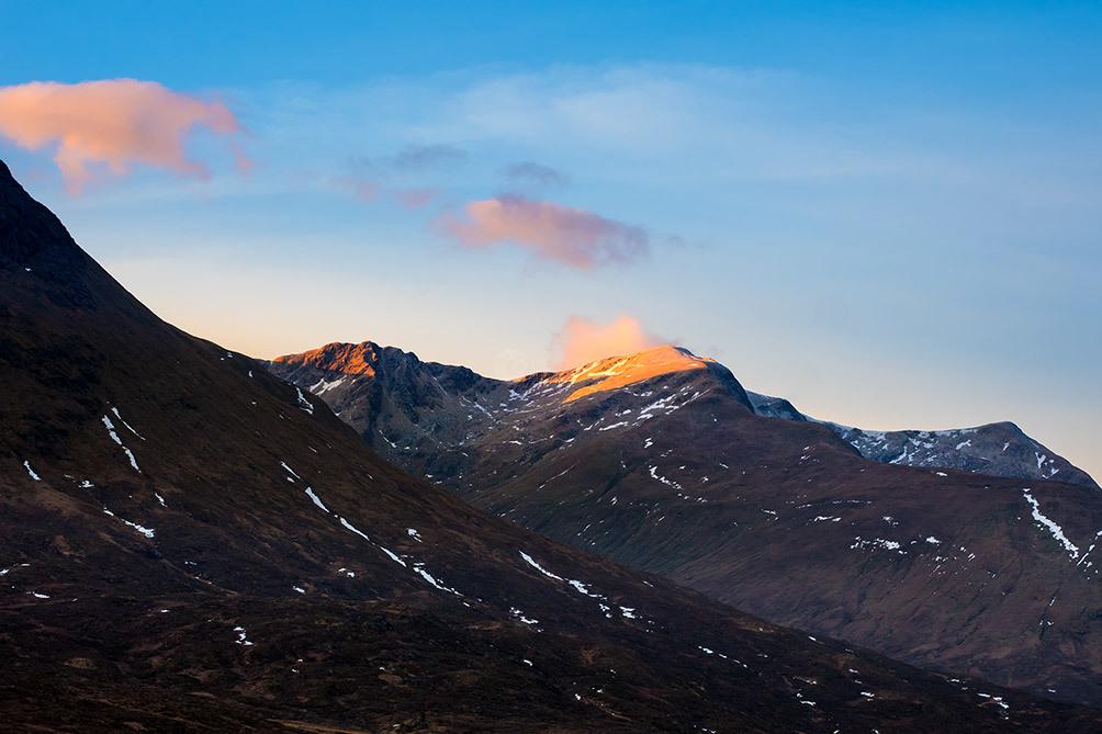 Scotland Glencoe Mountains