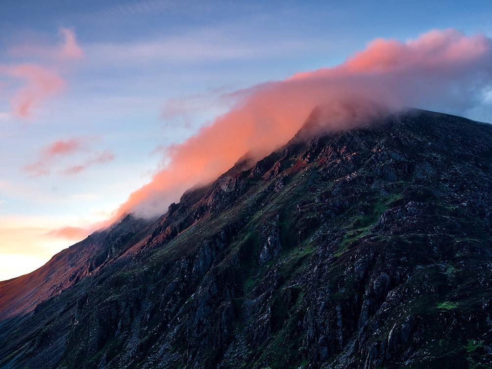 Snowdonia Mountain Sunset