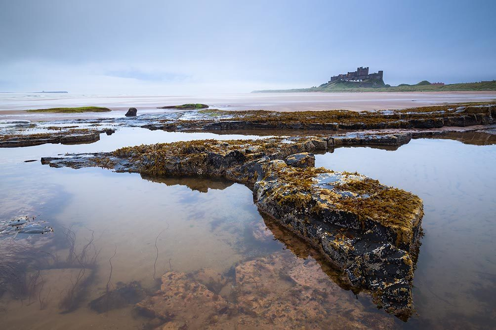 Bamburgh Misty Morning 1