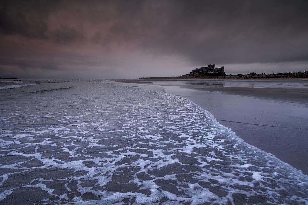 Bamburgh Incoming Tide
