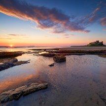 Bamburgh Breaking Dawn